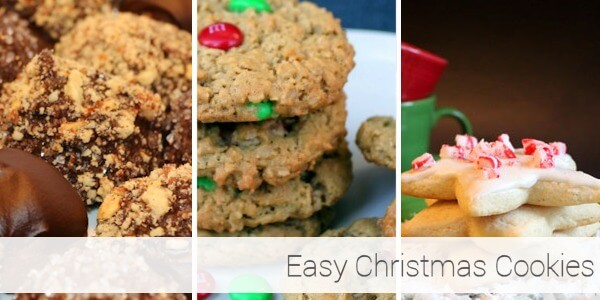 Easy Christmas Cookies 21-25
