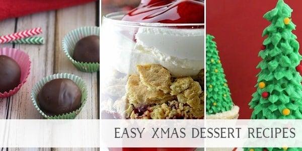 Easy Xmas Dessert Recipes
