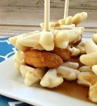 Ad: Chicken and Waffle Sliders