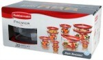 Amazon: 20-Piece Rubbermaid Food Storage Container Set Only $17.99 (Regularly $29.99) – Today Only!