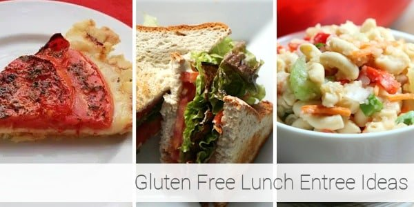 Gluten Free Lunch Ideas - Entrees 2