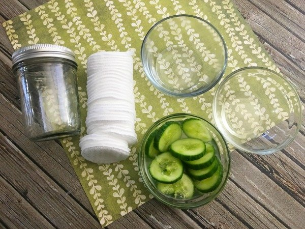 Homemade Makeup Remover Pads Ingredients