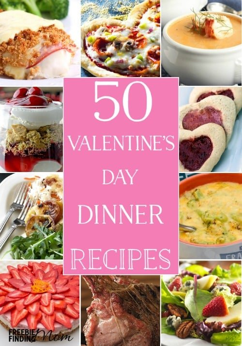 50 valentine 39 s day dinner recipes for Valentine dinner recipes kids
