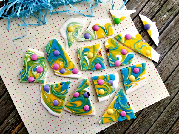 Easter bark step 9