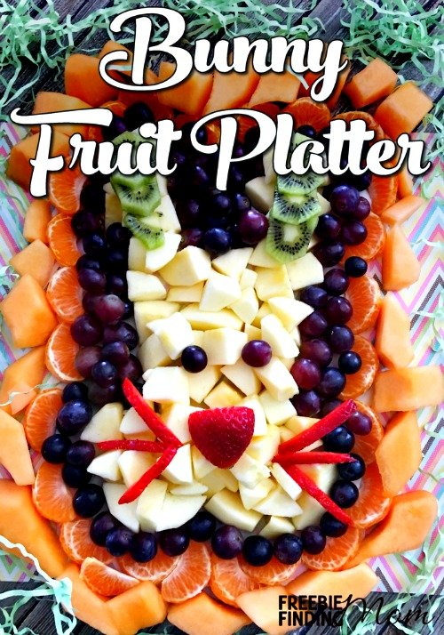 Want a healthy Easter recipe that is as cute as it is delicious? This Easter fruit arrangement of a bunny's head is loaded with apples, grapes, cantaloupe, oranges, strawberries, and kiwi is sure to be the hit of your Easter party. Party guests trying to stick to their New Year's resolutions will appreciate this holiday recipe that will allow them to indulge their sweet tooth but without consuming chocolate bunnies and caramel filled eggs.