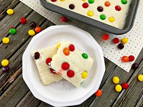 How to Make Skittles Fudge Final