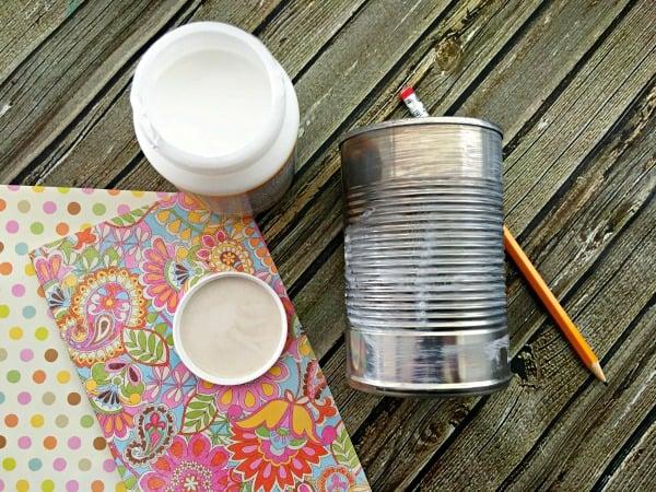 DIY Tin Can Planters Step 5