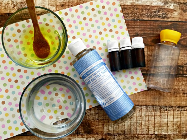 Homemade Face Wash For Acne Recipe Ingredients
