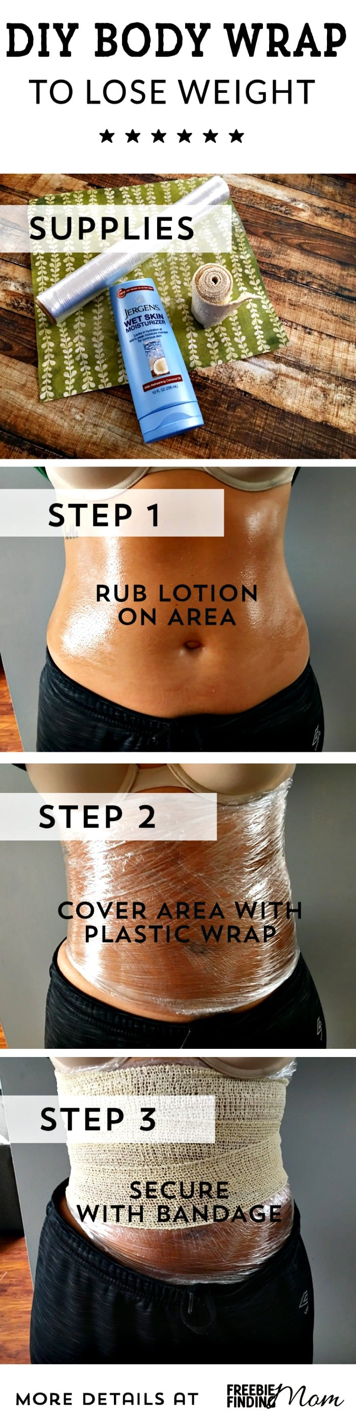 Diy Lose Weight Body Wraps To Shed Unwanted Pounds