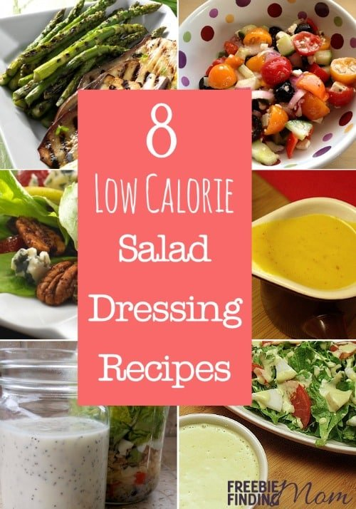 8 Low Calorie Salad Dressing Recipes