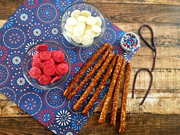 Patriotic foods firecracker pretzels ingredients