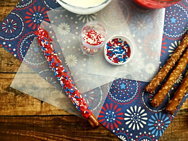 Patriotic foods firecracker pretzels step 5