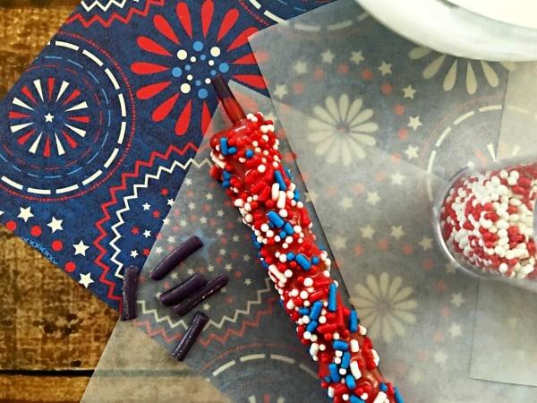 Patriotic foods firecracker pretzels step 9