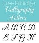 printablecalligraphylettersf