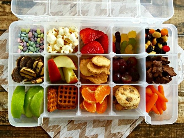 Storage ideas for food - diy travel food kitt final