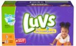 New! $2 Off Luvs Diapers Coupon + $3 Cash Back Rebate on Luvs Diapers With Ibotta App