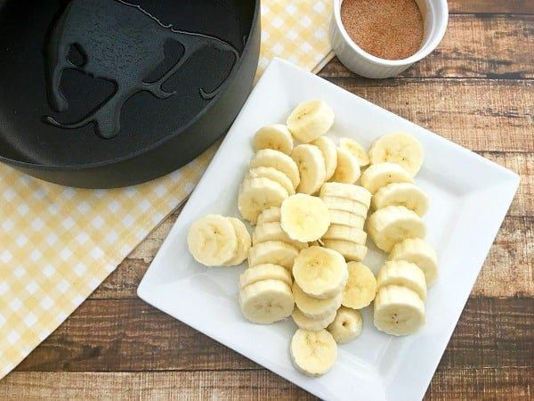 Healthy Fun Snacks For Kids Cinnamon Bananas Step 2
