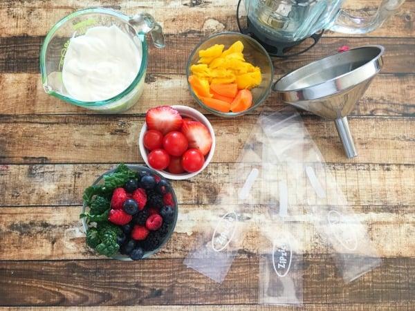 Healthy Fun Snacks For Kids Ingredients