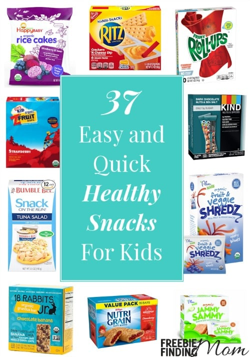 Tired of looking at store shelves and seeing foods loaded with chemicals, additives and preservatives? This mom is too which is why I am sharing this list of 37 easy and quick healthy snacks for kids. Here you'll find delicious organic and all natural snacks for kids that contain real fruit and vegetables that your kids will actually eat. These kid snacks are great for after school, the park, the pool, or any occasion where you want to fill their bellies with good nutrients.