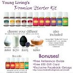 Young Living Essential Oils Premium Starter Kit Only $160 Plus S&H (Kit Includes 11 Essential Oils, a Diffuser, & Lots Of Freebies!)