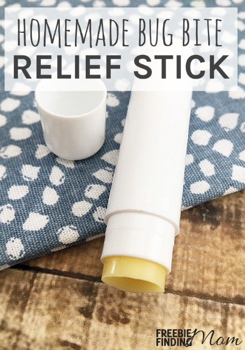 Not sure how to treat bug bites naturally? Whip up this easy all natural bug bite relief stick recipe to alleviate itchy, irritated skin. This recipe requires only a handful of ingredients (beeswax pellets, cocoa butter, and tea tree and lavender essential oils) and takes just minutes to make. Plus it is super portable.