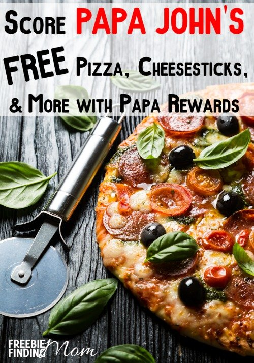 Need a quick, easy and cheap meal? How does Papa John's free pizza, cheesesticks, and more sound? Find out how signing up for Papa Rewards can snag you free food.