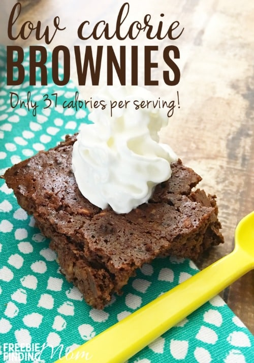 Trying to lose weight but still need to satisfy your chocolate craving? These low calorie brownies will please your taste buds but keep your waistline in check. At only 37 calories per serving you can have more than one and not feel guilty. Whether you are on a low or no sugar diet, Weight Watchers, or are just trying to cut back on calories, you'll be happy you indulged in this low calorie dessert.