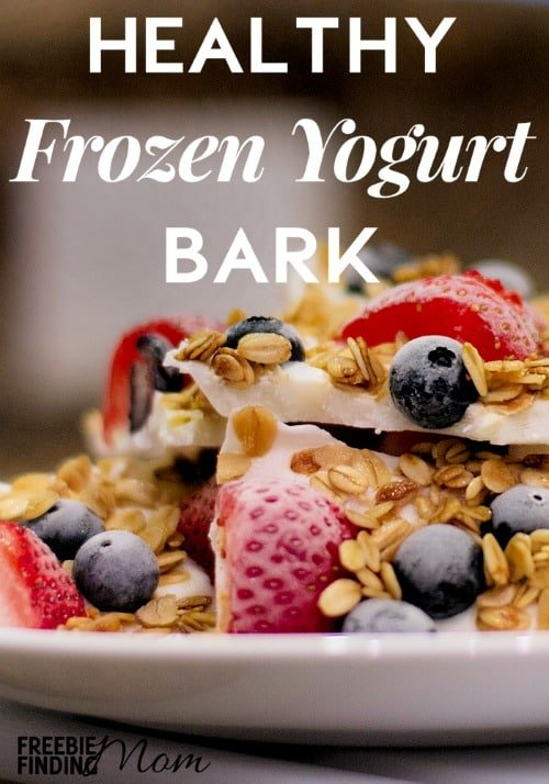 Want a delicious and healthy treat for the family? Save the calories and skip that big bowl of ice cream to cool off this summer, instead whip up healthy yogurt recipes like this Greek Yogurt Breakfast Bark. This nutritious recipe is easy to make and it requires just five ingredients. Not only is this frozen yogurt bark a great way to start the day, it makes a yummy snack too!