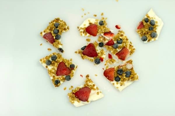 Healthy Yogurt Recipes Yogurt Bark Step 8