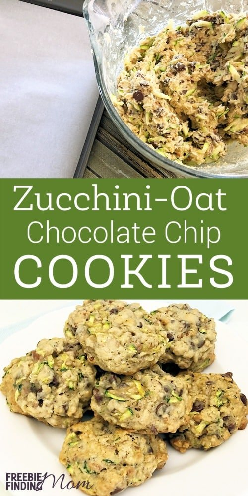 Need an easy and delicious way to sneak vegetables into your picky eater's diet? Put your summer zucchini to good use and whip up a batch of these yummy zucchini-oat chocolate chip cookies. This zucchini cookies recipe is loaded with nutrients and chocolatey goodness. Serve them as a healthy snack or breakfast cookie.