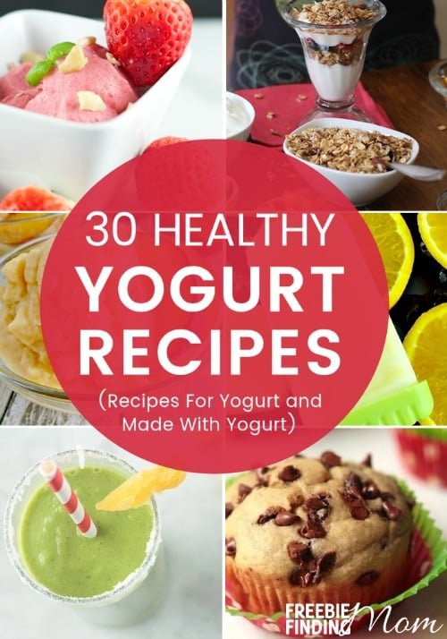 Need healthy and delicious recipes for you or the family? Here you'll find 30 healthy yogurt recipes that will satisfy your taste buds but keep your waistline in check. Go ahead and indulge guilt-free in yogurt parfaits, yogurt bark, yogurt popsicles, and more.