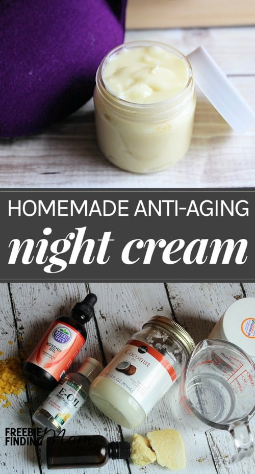 How would you like to fight the signs of aging, improve elasticity, and moisturize your skin while you sleep? Simply whip up this easy-to-make all natural homemade night cream recipe and you can start waking up to beautiful, healthy skin now.