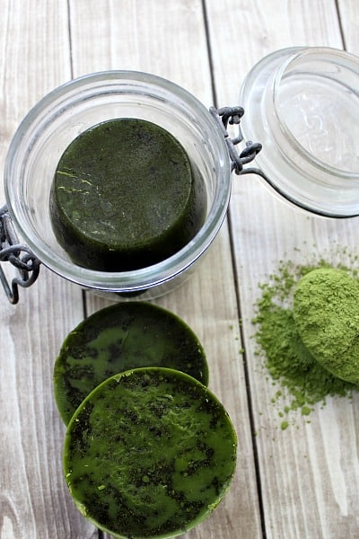 Discover Green Tea Beauty Benefits Matcha Mint Sugar Scrub Bars step 5