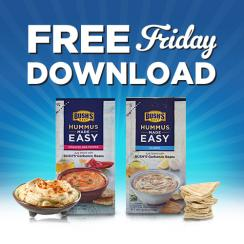 Kroger free Friday download for free Bush's® Hummus Made Easy
