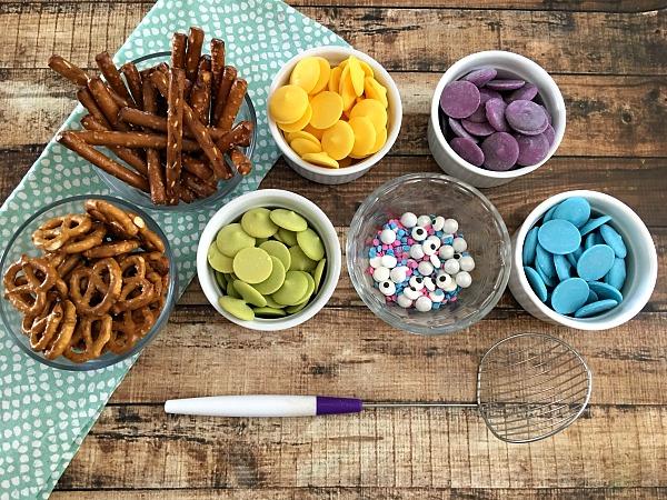 Pretzel Snack Recipe Idea Butterflies ingredients