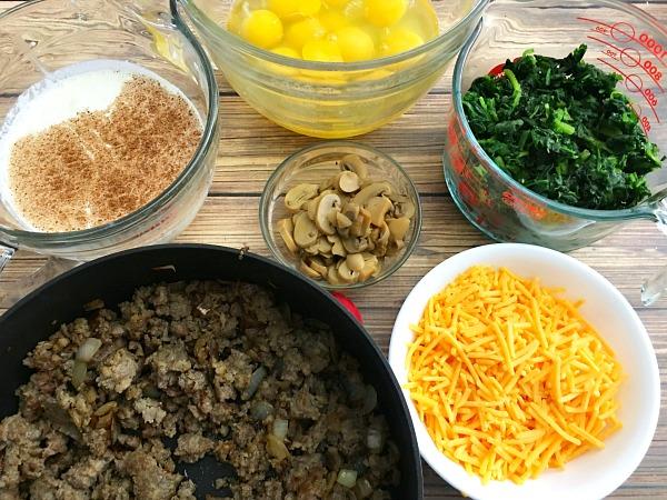 easy-sausage-breakfast-casserole-ingredients