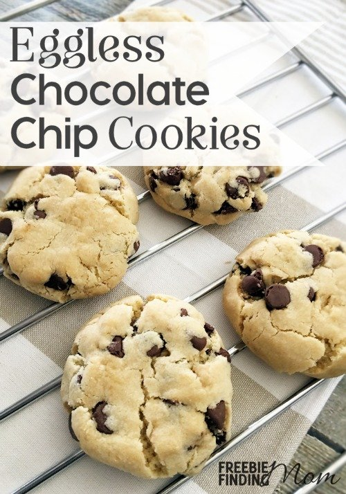 Are you vegan, have an egg allergy, or maybe you just want to try a new spin on a classic cookie recipe? Whatever the reason you should give this decadent Eggless Chocolate Chip Cookie Recipe a try. This eggless cookie recipe is no harder to make than the traditional chocolate chip cookie recipe and it will be every bit as delicious.