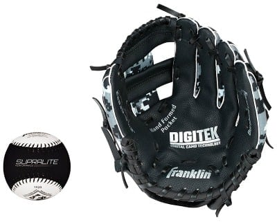 Franklin Youth RTP Performance 9.5-inch Tee Ball Glove and Ball Set
