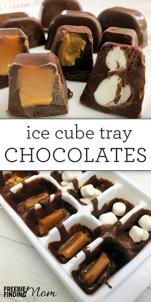Chocolate Christmas Candies Recipe Ice Cube Tray Chocolates