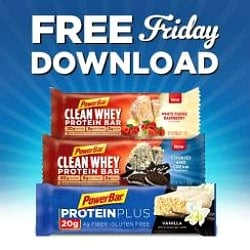 Kroger free Friday download for a free PowerBar Protein Bar