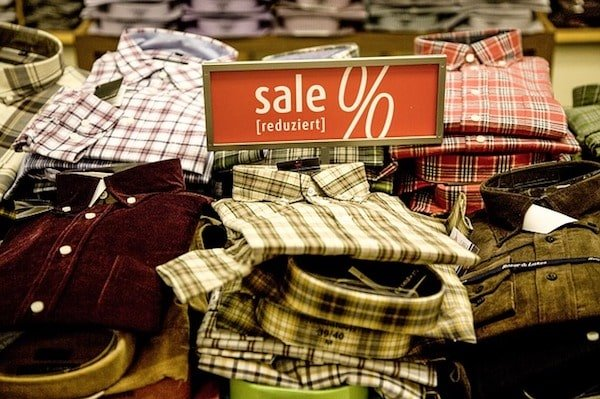 Keep your price point low with retail arbitrage by shopping sales