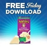 Kroger FREE Friday Download: One FREE Annie's Homegrown Natural Macaroni & Cheese (January 20 Only)