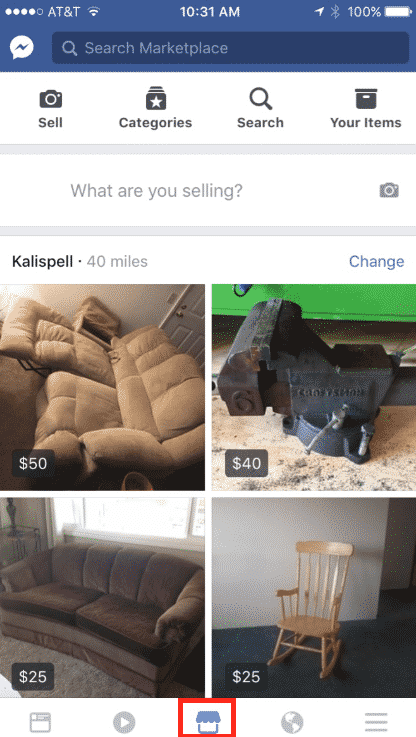 How to sell on Facebook in the Marketplace