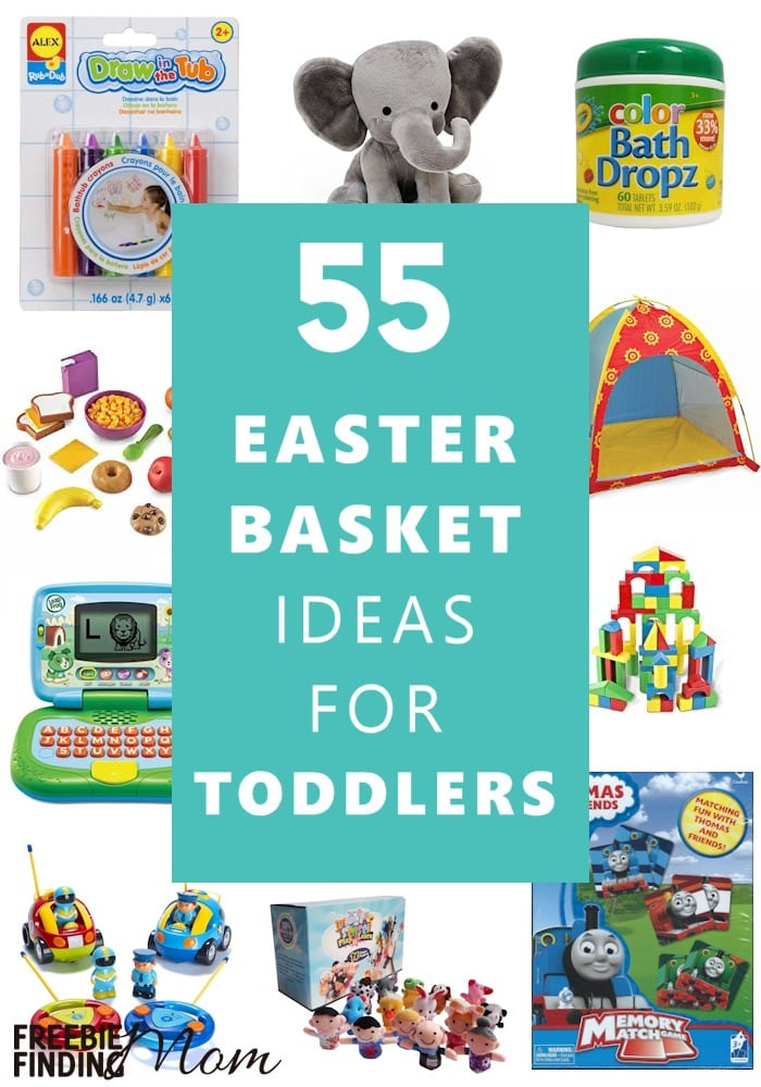 55 easter basket ideas for toddlers need easter basket ideas for toddlers here youll find 55 easter basket ideas negle Gallery