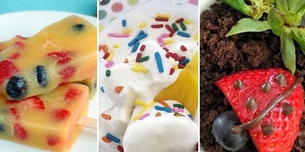 Toddler Snack Ideas Desserts