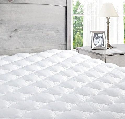 Mattress Pad on bed