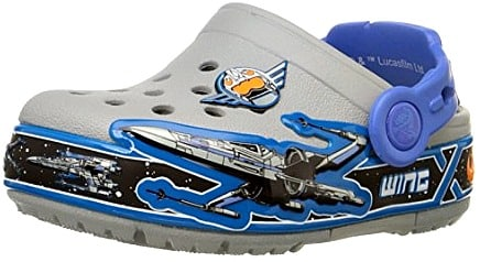 141a7323f You can pick up this Crocs Kids  Star Wars X-Wing Light-Up Clog for just   22.99 (regularly  32.51) with FREE Super Saver Shipping!