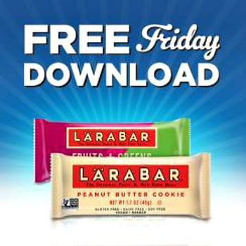 Kroger free Friday download for Larabar