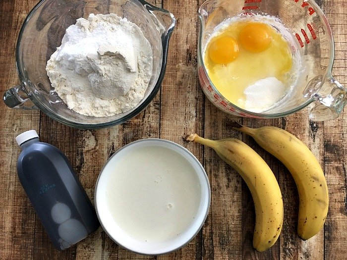 simple banana cake recipe ingredients