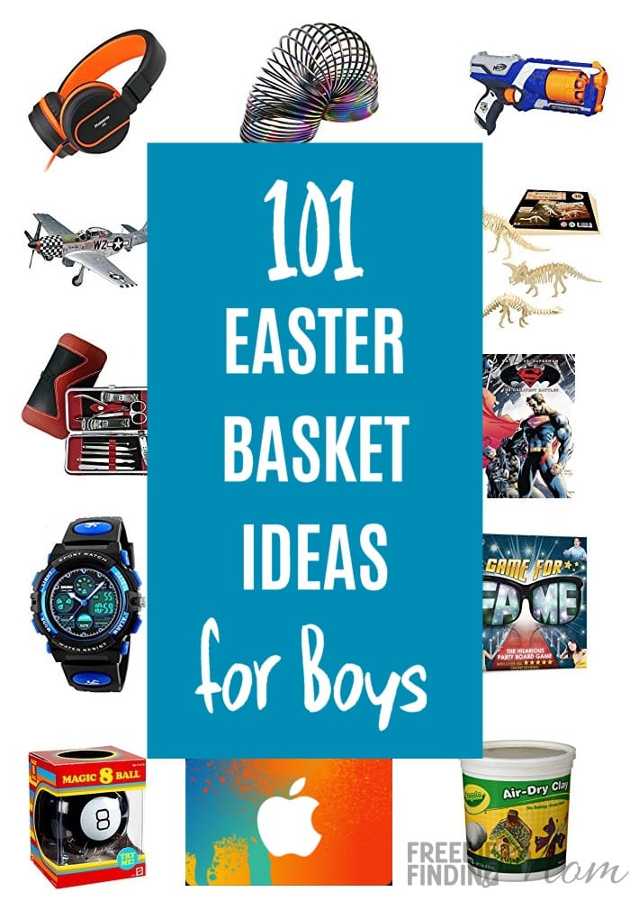 101 easter basket ideas for boys of all ages negle